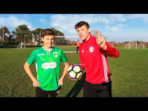 Thumbnail: BACKFLIP FOOTBALL CHALLENGE vs MY BRO