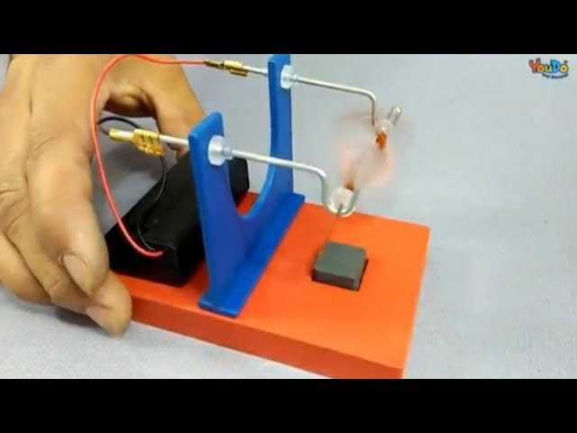 Working model of DC motor - Electric motor kit II YouDo Video