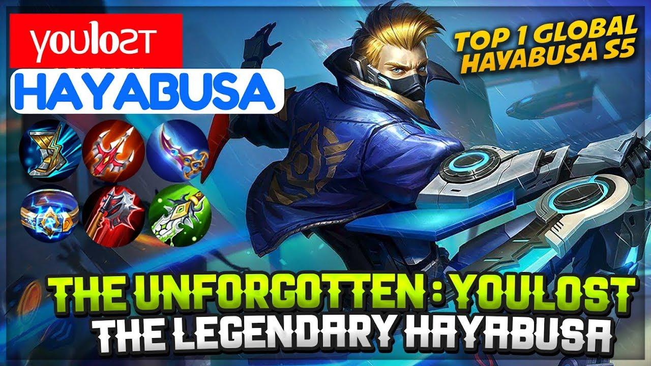 Youlost The Legendary Hayabusa [ Top Global 1 Hayabusa S5 ] γoυloƨт Hayabusa Mobile Legends