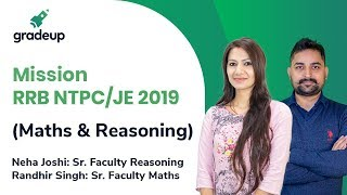 Mission RRB NTPC/ JE 2019 (Maths & Reasoning Course)