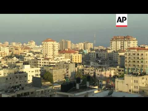 Israeli rocket hits unmanned police office in Gaza Strip