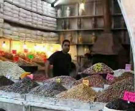 open market in damascus