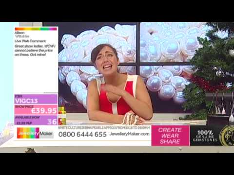 The Christmas In July Show - JewelleryMaker LIVE (am) 25/07/2015
