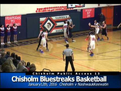 Chisholm Basketball vs Nashwauk Keewatin