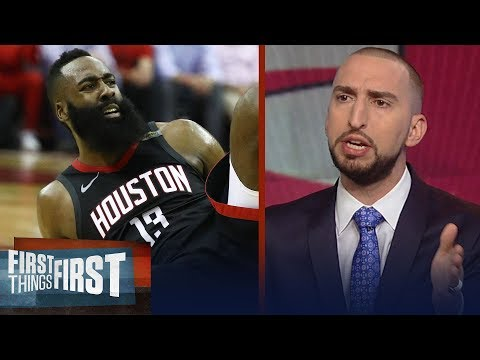 Nick Wright on James Harden's defeat in Houston's Game-7 loss to Warriors | NBA | FIRST THINGS FIRST