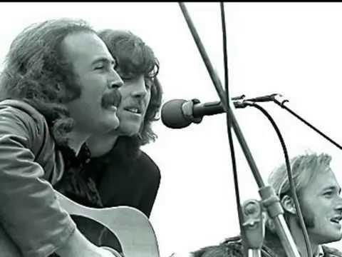 Crosby, Stills & Nash - Helplessly Hoping (With Lyrics)