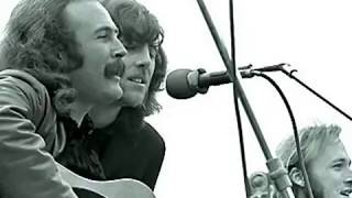 Crosby, Stills & Nash - Helplessly Hoping (With Lyrics)