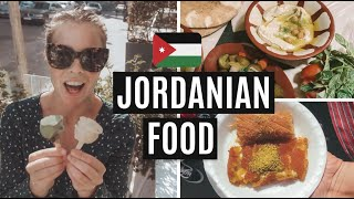 WE TRIED JORDANIAN FOOD | Jordan travel vlog