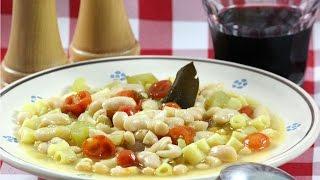 Classic Pasta e Fagioli - Rossella Rago - Cooking with Nonna