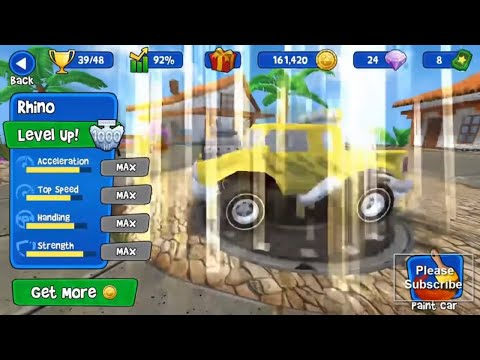 Beach Buggy Racing Rhino Car 100 HP Championship Android Gameplay