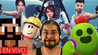 ROBLOX Live Fire Minecraft PE Brawl Stars LIVE Playing with Direct Subs Private Games