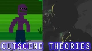 Who is Purple Guy? What Do the Cutscenes Tell Us?    Sister Location Custom Night Theories
