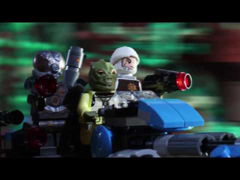Bounty Hunter Speeder Bike Battle - LEGO Star Wars - Should Have Used The Force