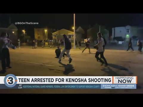 17-year-old arrested in Kenosha after 2 killed during unrest from YouTube · Duration:  1 minutes 35 seconds