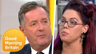 Piers Clashes With Guest Over Banning Skirts Debate | Good Morning Britain