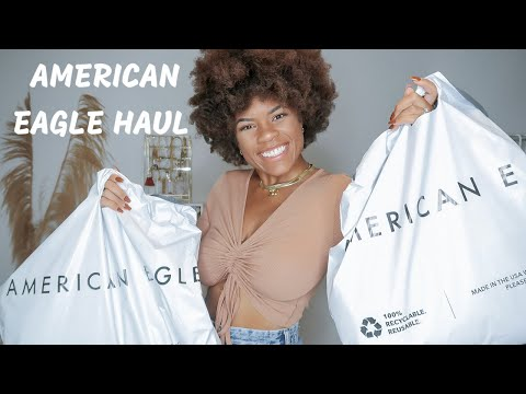 AMERICAN EAGLE TRY ON HAUL