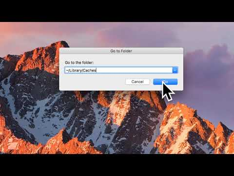 How to clear Cache memory on Mac OS X - Tutorial