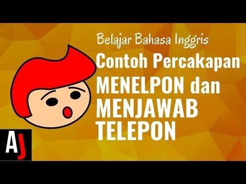 Contoh percakapan bahasa Inggris saat menelpon dan menerima telepon
