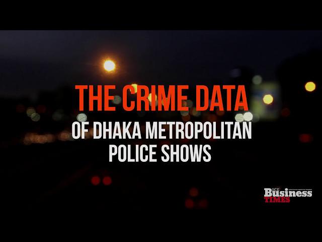 Dhaka Metropolitan Police's Crime Data