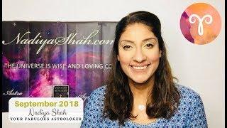 Video ♈ Aries September 2018 - Astrology Horoscope by Nadiya Shah download MP3, 3GP, MP4, WEBM, AVI, FLV September 2018