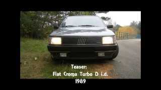 Fiat Croma 2.0 Turbo D i.d. Engine sound