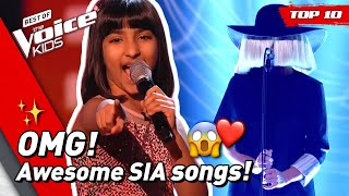TOP 10 | Would SIA turn for these young singers in The Voice Kids? 😍