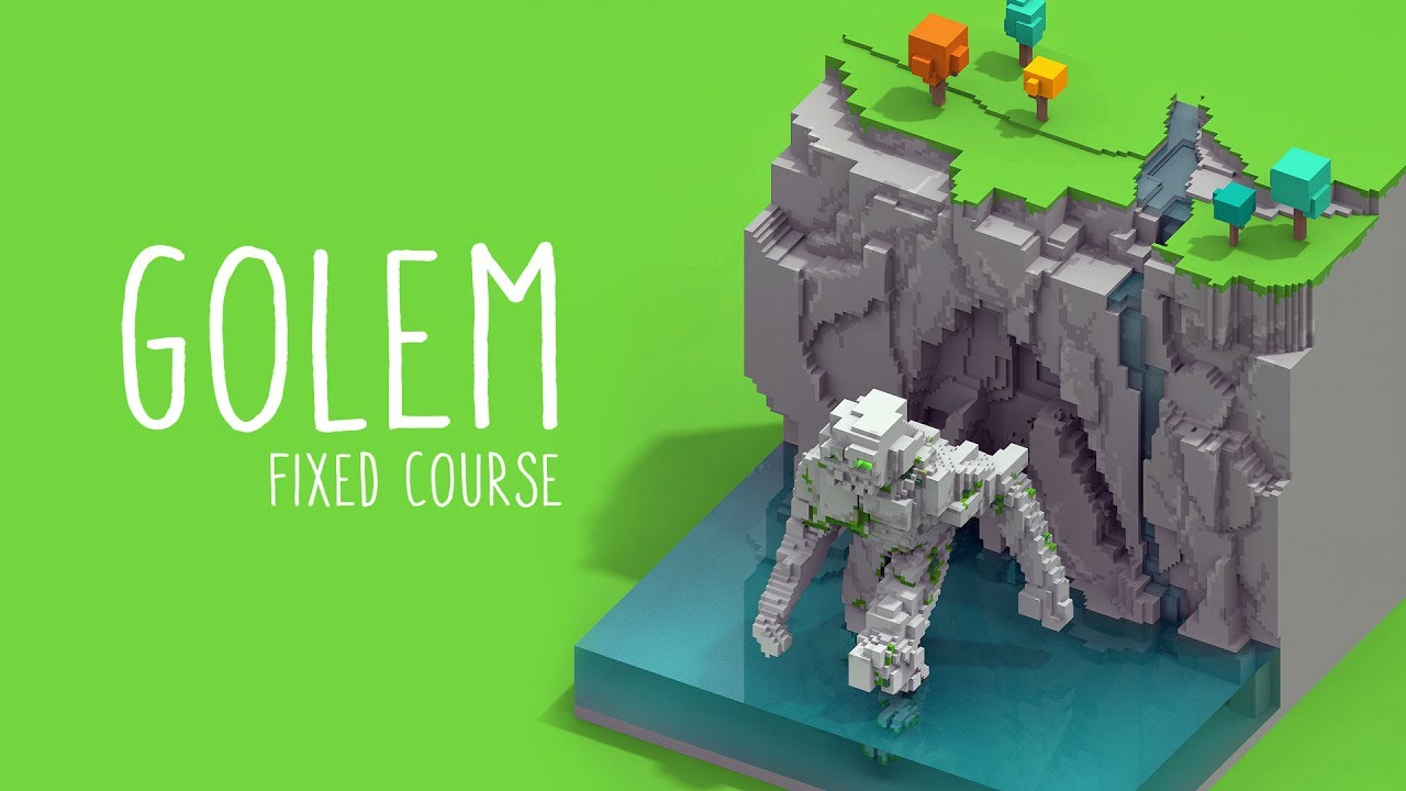 Fixed course Voxel Art