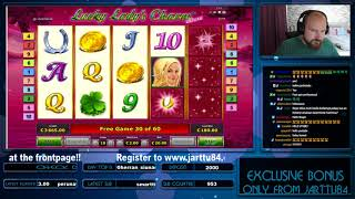 Big Bet!! Lucky Lady's Charm Gives Super Big Win!!