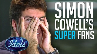 Simon Cowell's Funny Fan Auditions On American Idol | Idols Global