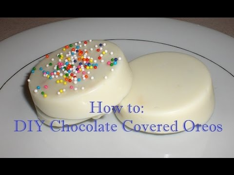 How To Diy Chocolate Covered Oreos Youtube