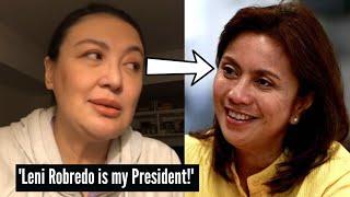 Sharon Cuneta gusto maging Presidente si Leni Robredo