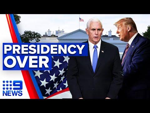 Pence urged to remove Trump as president | 9 News Australia thumbnail