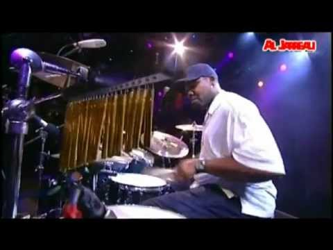 Al Jarreau. Drummer solo and Bassist Solo - Mark Simmons and Chris Walker.