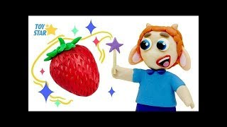Princesa Dolly And Friends Funny Circus Play Doh Stop Motion Cartoon for Children Episode #8