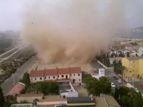 Tornado en terreros pulpi espa a youtube - Tornados en espana ...
