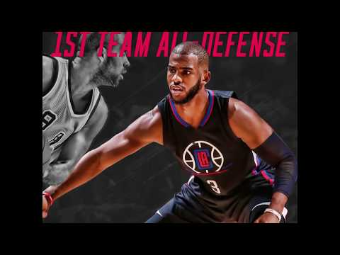 CP3 Named to the 2016-17 NBA All-Defensive First Team