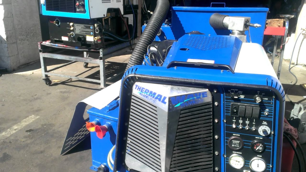 Blue Line Thermal Wave Nissan 49 Hp Truckmount Youtube