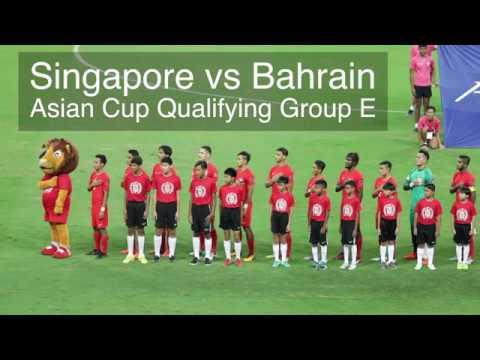 Asian Cup Qualifier: Singapore vs Bahrain