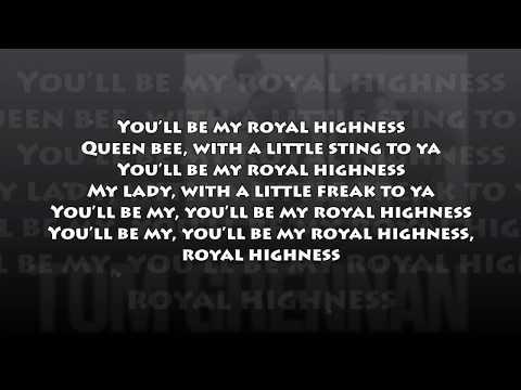 Tom Grennan  - Royal Highness (LYRICS) NEW! 2017