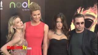 "Stephen Baldwin and Ireland Baldwin at ""The Hunger Games"" World Premiere Arrivals"
