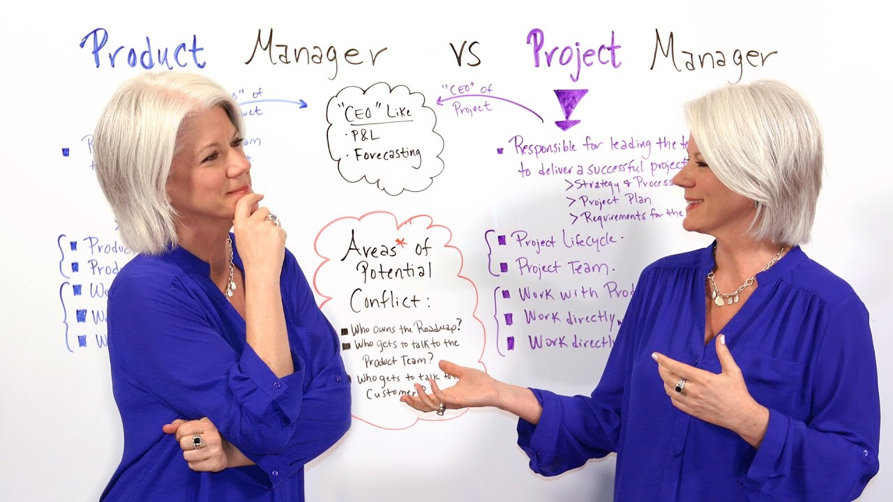 Product Manager vs Project Manager - Project Management Training. Jennifer Bridges, PMP, explains the differences between a product and project manager. Try our award-winning PM software for free: https://www.projectmanager.... Youtube video for project managers.