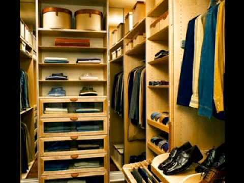 Easy DIY walk in closet decorations ideas - YouTube