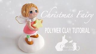 Christmas Fairy Polymer Clay Tutorial - Simple Fairy
