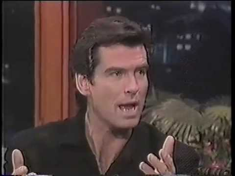 Leno: Pierce Brosnan 1995