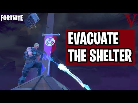 Evacuate the Shelter | Evacuate Immediately! | Canny Valley 2 | Fortnite Save the World | TeamVASH