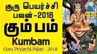 Guru Peyarchi 2018 - 2019 |  கும்ப ராசி குரு பெயர்ச்சி பலன்கள் | Kumba Rasi