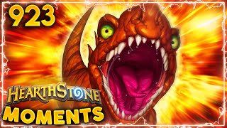 THE AMAZING EXPLODING DINOSAURS | Hearthstone Daily Moments Ep.923