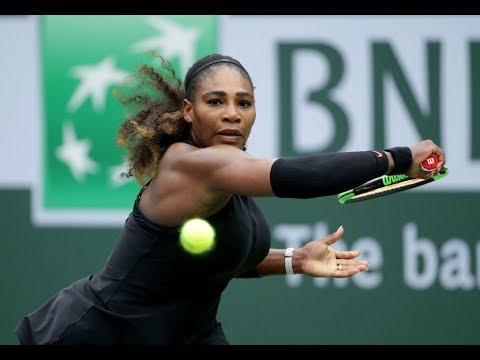 2018 Indian Wells Second Round   Serena Williams vs Kiki Bertens   WTA Highlights