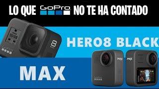 GoPro HERO 8 y GoPro HERO MAX 360 lo que el MARKETING de GoPro NO te ha CONTADO