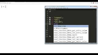 Учим PHP урок № 3 переменные и сколярные типы данных | Уроки программирования для начинающих